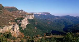 The Cliffs of Tavertet